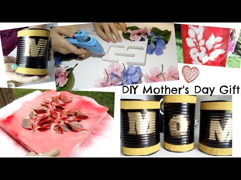 3 Last Minute DIY Mothers Day Gift Ideas || Grace