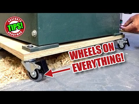 Small Workshop Organisation - Put WHEELS ON EVERYTHING! GHTL#17 [114]