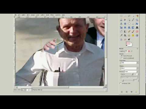 GIMP Tutorial: How to Remove & Insert People