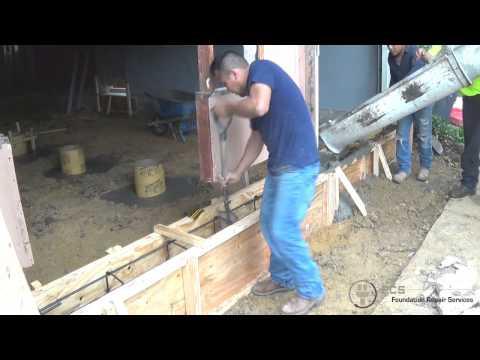 Concrete beam addition and sonotube drill piers | Foundation repair dallas | Foundation repair plano
