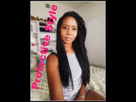 My New Protective Hairstyle ❤ Senegalese Twist