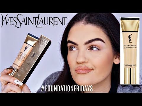 NEW YSL Touche Eclat All-In-One Glow Tinted Moisturizer Review, Swatches, & Tutorial