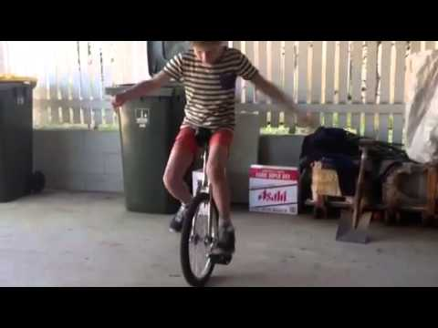 How to free mount on a unicycle