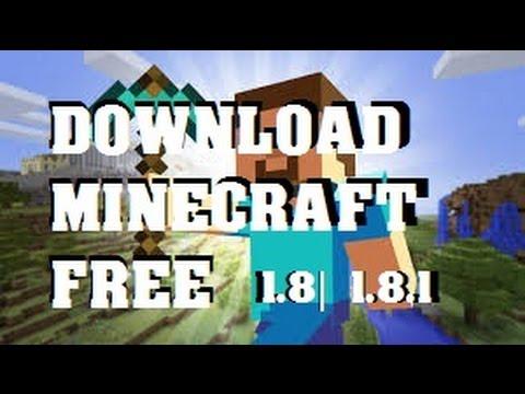 Minecraft download 1.8/1.8.1 [CRACKED] FREE