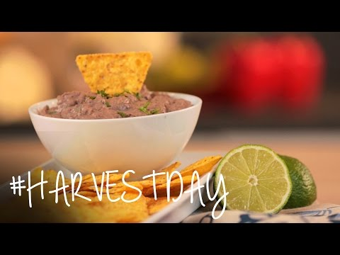 How to Make the Smoky Black Bean Dip That Everybody Loves | #HarvestDay | Oprah Online
