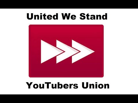 Creators, Users... To Arms! Join the YouTubers Union.