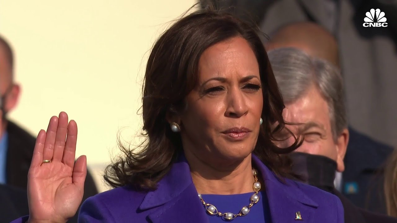 Kamala Harris takes oath as vice president of the United States