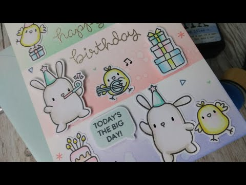 Come Craft With Me - Cute Birthday Card