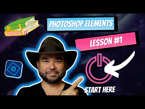 Learn Photoshop Elements - Lesson #1 (The beginning)