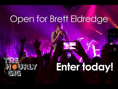 Enter for Your Chance to Open for Brett Eldredge