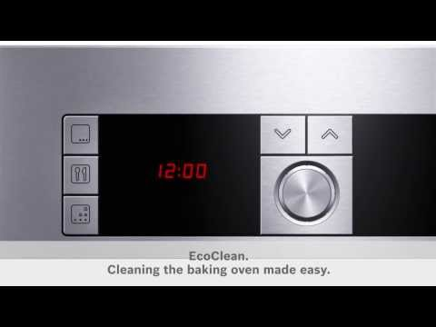 Bosch EcoClean - Cleaning the Oven Made Easy - The Good Guys