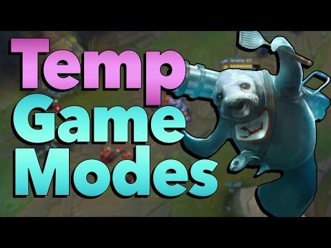 Do Temporary Game Modes Suck? | League of Legends & Hearthstone