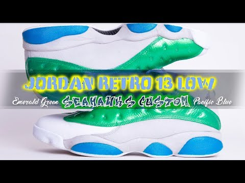 Custom Air Jordan Retro 13 Low