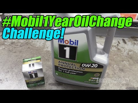 #Mobil1YearOilChange Challenge!