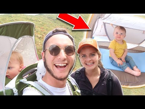 HOW TO GO BACKPACKING & CAMPING WITH BABY!! *Packing List*   The Wander Family