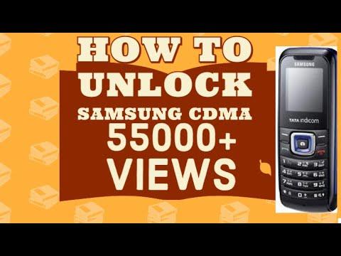 How To Unlock Samsung Cdma Basic Mobile Locked