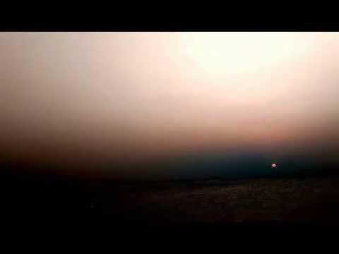 beautiful sunrise event at kanyakumari( Tamilnadu) fire ball  amazing and awsome