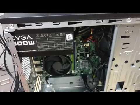 Video card upgrade on a basic desktop
