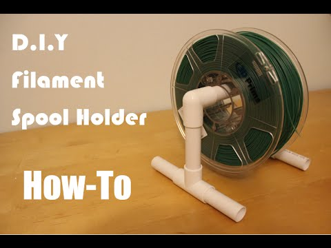 How to make a D.I.Y Filament Spool holder