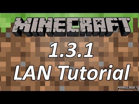 Minecraft Tutorial - LAN Server (1.3.1 Update)