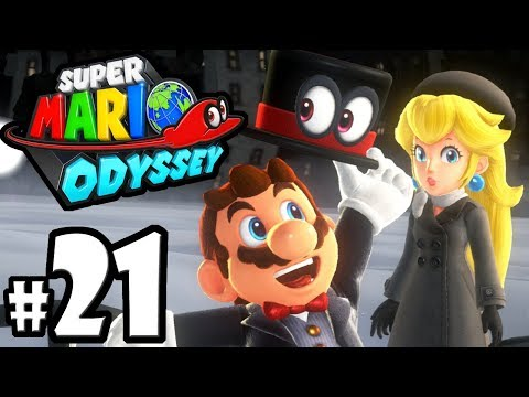 Super Mario Odyssey - Nintendo Switch Gameplay Walkthrough PART 21: Bonneton Moons - Cap Kingdom