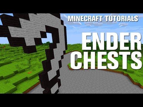 Minecraft Tutorials: Ender Chests