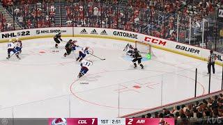 NHL 22 - Colorado Avalanche vs Arizona Coyotes - Gameplay (PS5 UHD) [4K60FPS]