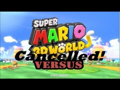 Super Mario 3D World Versus Is Cancelled?!