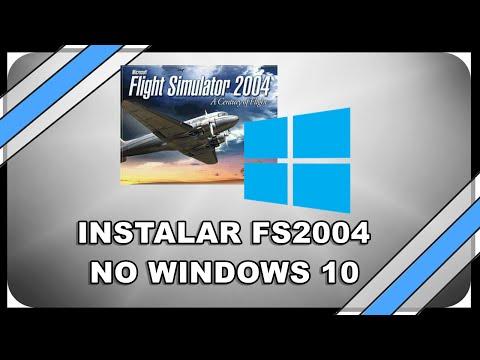Instalando FS2004 no WINDOWS 10