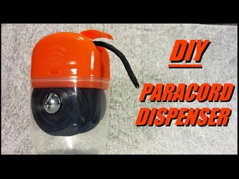 Easy DIY Paracord Dispenser