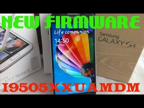 Samsung Galaxy S4 NEW UPDATE AVAILABLE NOW!!!!