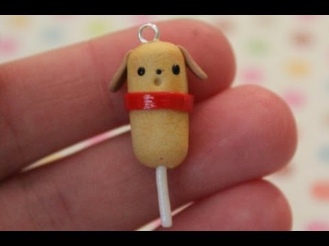 Polymer Clay: Corn Dog Tutorial