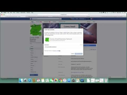 How To Change Your Facebook Business Page Username