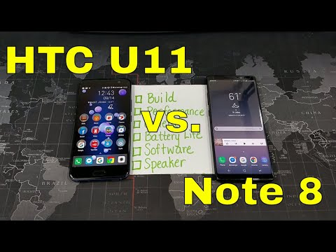 Note 8 vs. the HTC U11 - A Flagship Showdown! - My Thoughts!