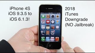 Downgrade iPhone 4 Untethered without SHSH - PakVim net HD