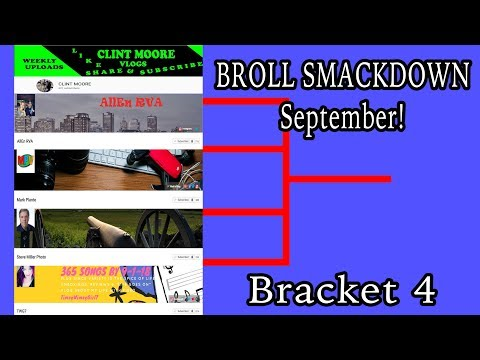 BRoll Smackdown September Prelims Bracket 4 - On the trail