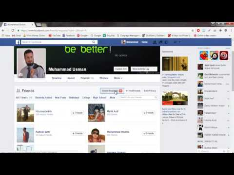 How to Check Pending Friend Request on Facebook