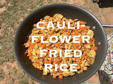 Cauliflower Fried Rice Whole 30 Recipe | Gluten Free, Paleo