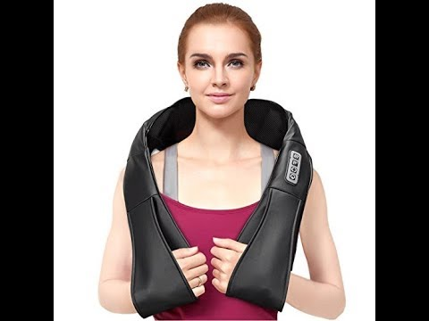 FITFIRST Neck and Shoulder Massager Shiatsu Kneading Massage with Heat Review