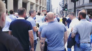 Football Lads Alliance FLA - Thousands descend on London