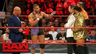 Jason Jordan defends his father against The Miz: Raw, Sept. 18, 2017