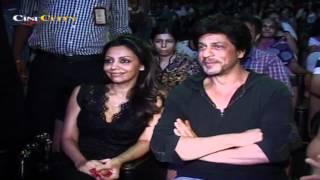 Suhana Khan performs as SRK and Gauri watch!