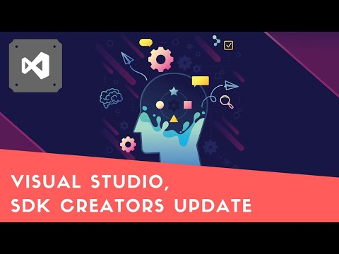 Visual Studio, download SDK Creators Update
