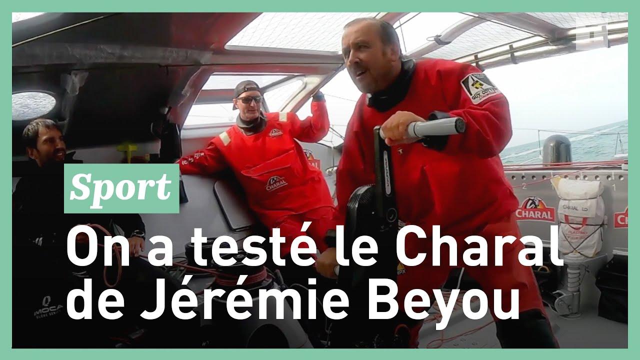 On a souffert en testant le Charal de Jérémie Beyou !
