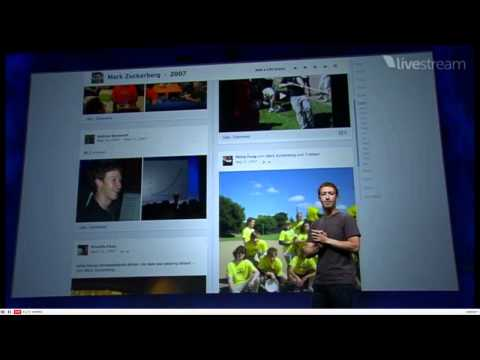 Facebook's New Look 2011- Timelines