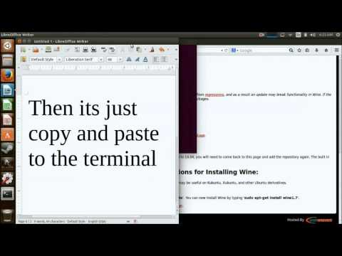 Fast, Easy, and Proper Way to Install Wine in Ubuntu 14.04 Using the Terminal