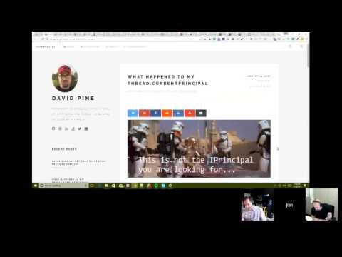 ASP.NET Community Standup - February 14th, 2017 - Back from Africa