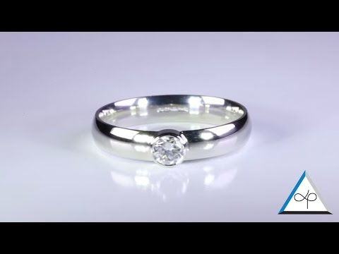 Diamond Rings Set in Platinum for Men - Flat band and Ladies Court Band   Prakash Gems