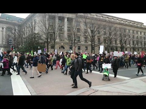 Washington Protests & Museum of Natural History