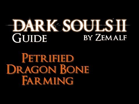 Petrified Dragon Bone Farming - Dark Souls 2 Guide - How to Farm Petrified Dragon Bones